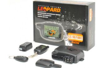 avtomobilnye signalizaczii leopard