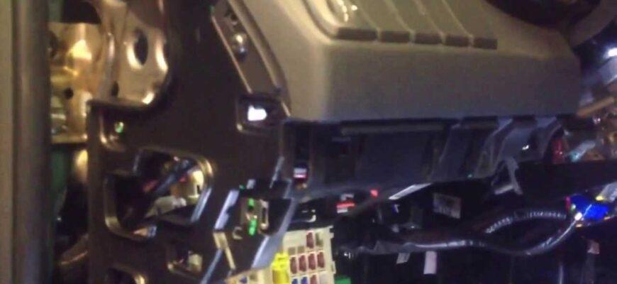 ustanovka signalizaczii star line a 91 na avtomobil kia rio 2013 goda